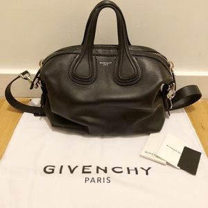 Authentic Givenchy Nightingale Small Satchel